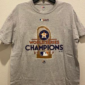 2017 Houston Astros World Championship T-shirt